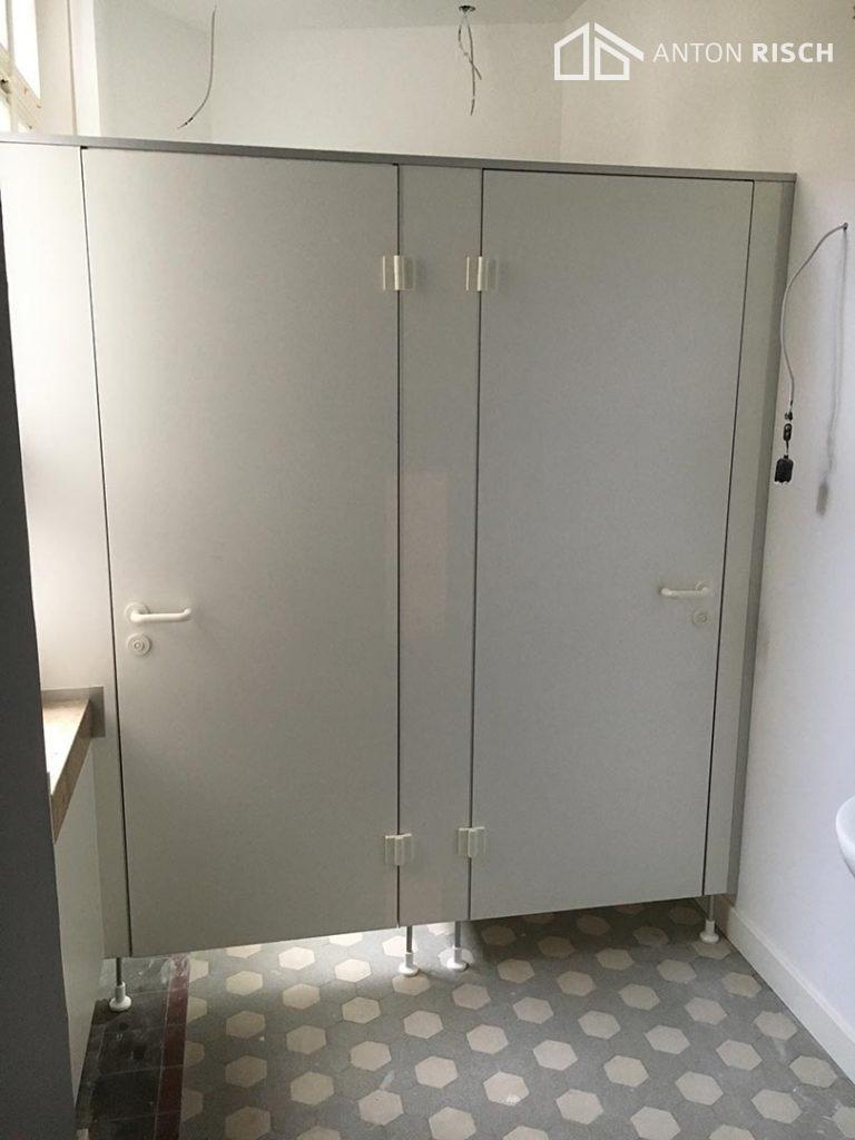 Toiletteneinbau
